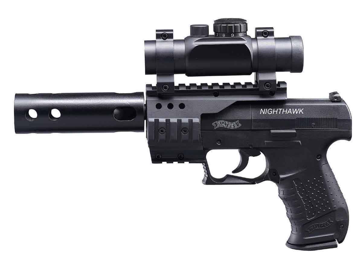Пистолет пневматический UMAREX Walther Night Hawk