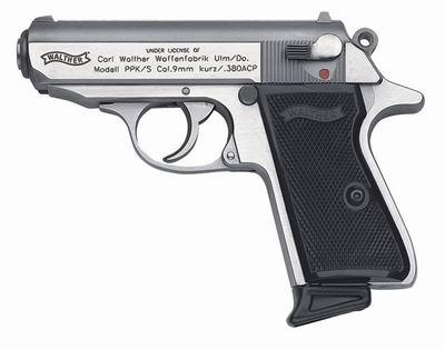 Пистолет пневматический UMAREX Walther PPK/S Nickel