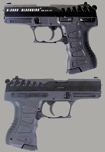 Пневматический пистолет Anics A-3003 Blackbird