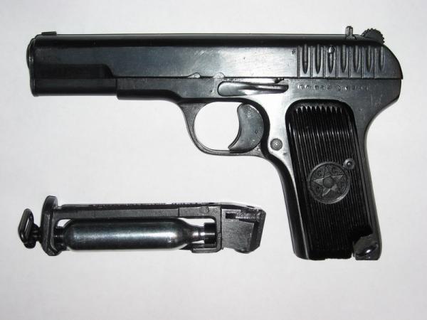 Пневматический пистолет Токарева МР-656К (ТТ)