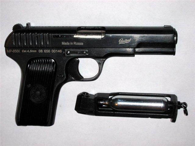 Пневматический пистолет Токарева