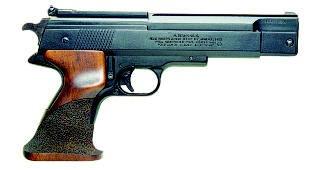 Пневматический пистолет Weihrauch HW 75