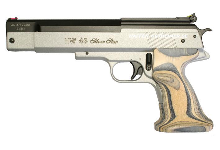 Пневматический пистолет Weihrauch HW 45