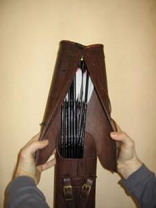Колчаны и киверы для стрел