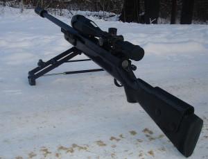 Снайперская винтовка Лобаева. СВЛ